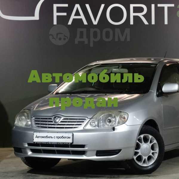 Toyota Allex, 2002 год, 349 000 руб.