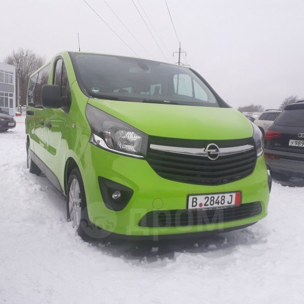 Opel Vivaro, 2016 год, 1 580 000 руб.