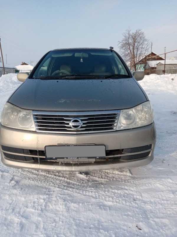 Nissan Prairie, 2002 год, 260 000 руб.