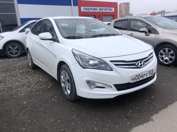 Hyundai Solaris, 2016 год, 540 000 руб.