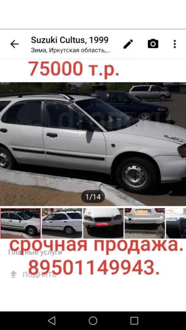 Suzuki Cultus, 1999 год, 70 000 руб.