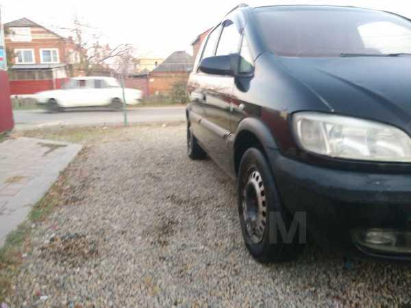 Opel Zafira, 2002 год, 135 000 руб.