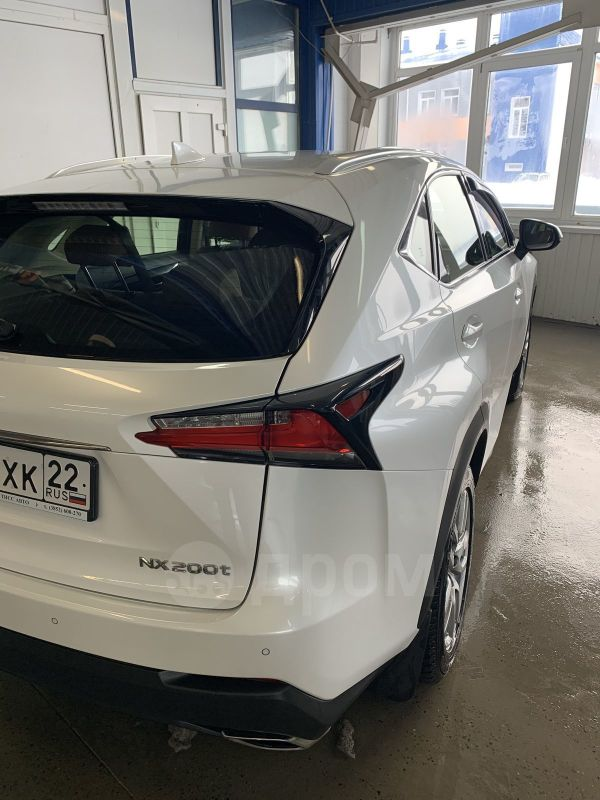 Lexus NX200t, 2017 год, 2 540 000 руб.