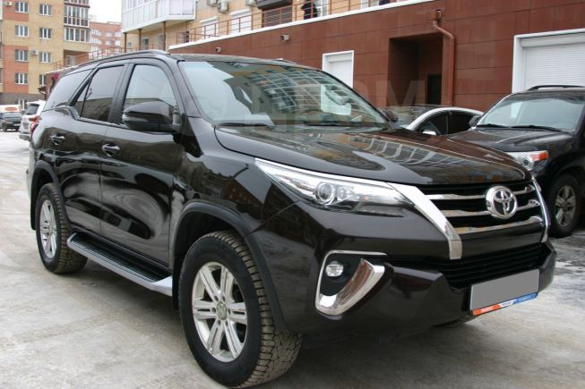 Toyota Fortuner, 2018 год, 2 289 000 руб.