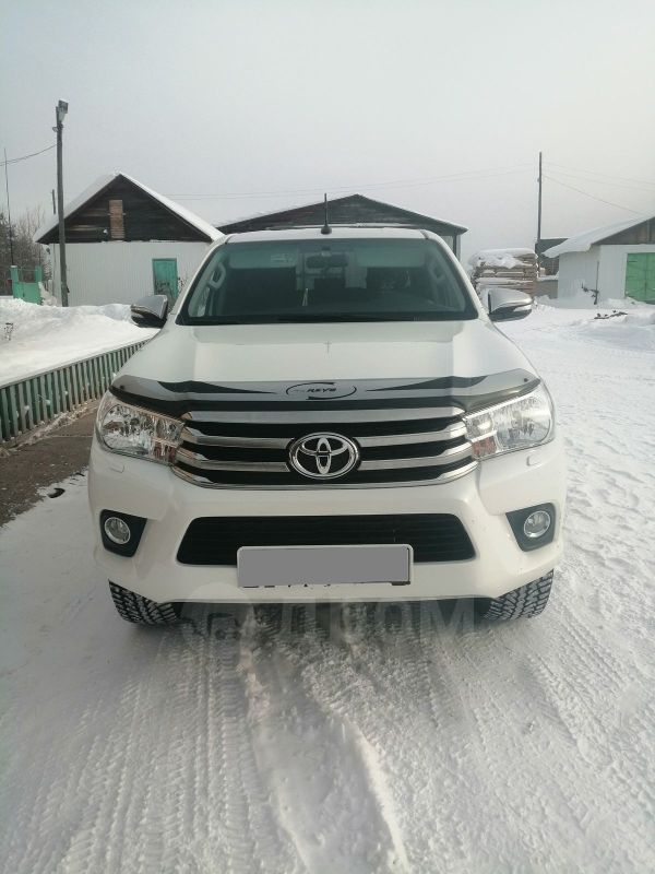 Toyota Hilux Pick Up, 2017 год, 2 000 000 руб.