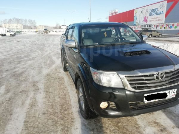 Toyota Hilux Pick Up, 2013 год, 1 280 000 руб.