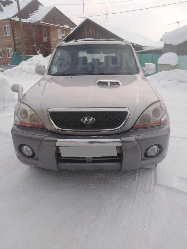 Hyundai Terracan, 2003 год, 430 000 руб.
