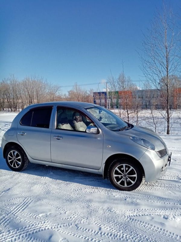 Nissan March, 2003 год, 240 000 руб.