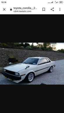Тбилисская Corolla 1982