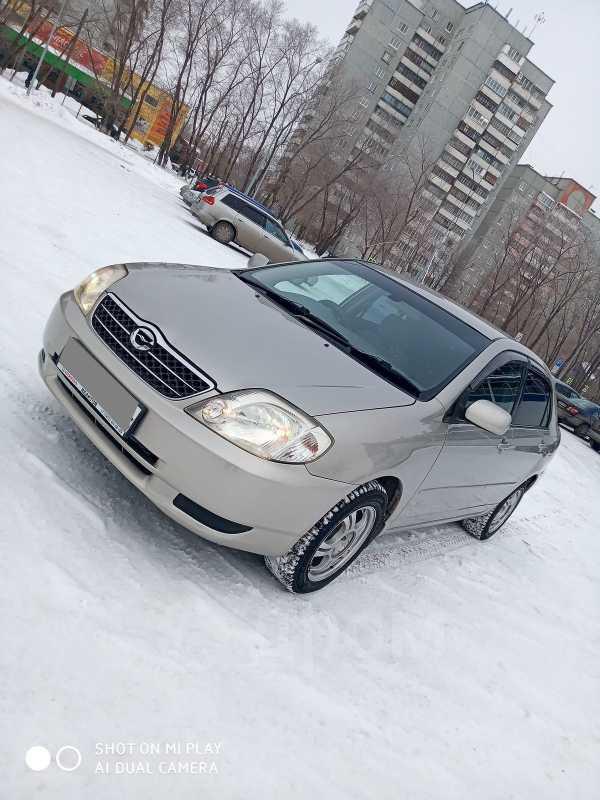 Toyota Corolla, 2002 год, 317 000 руб.