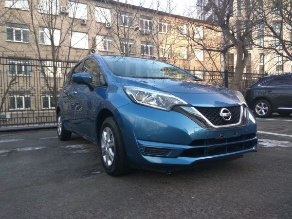 Nissan Note, 2017 год, 670 000 руб.