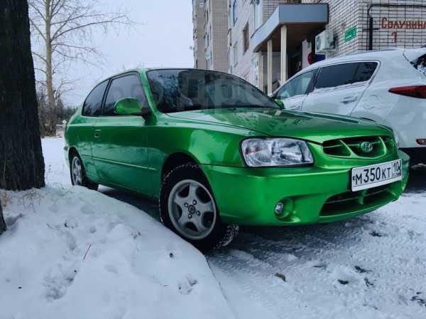Hyundai Accent, 2002 год, 200 000 руб.