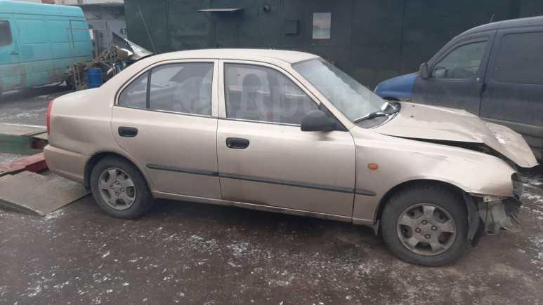 Hyundai Accent, 2002 год, 60 000 руб.