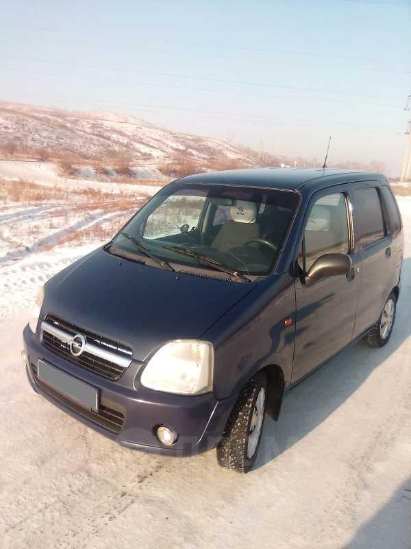 Opel Agila, 2004 год, 200 000 руб.