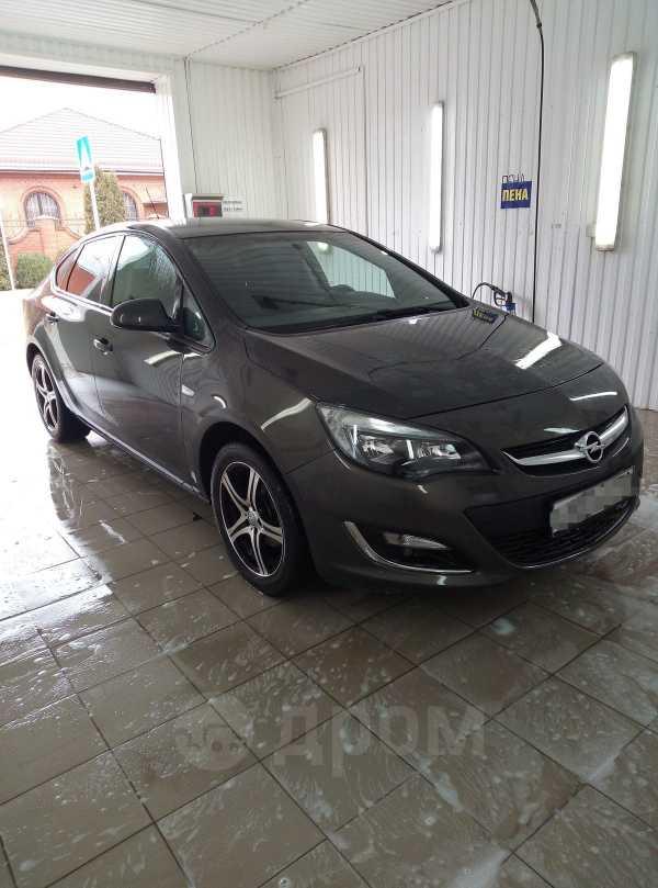 Opel Astra, 2013 год, 497 000 руб.