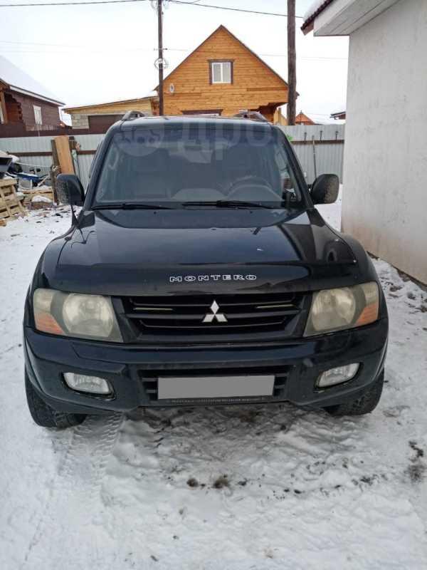 Mitsubishi Montero, 2002 год, 400 000 руб.