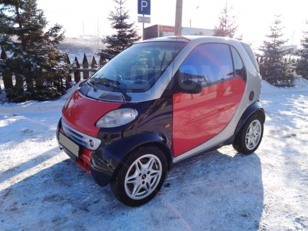 Smart Fortwo, 2000 год, 225 000 руб.