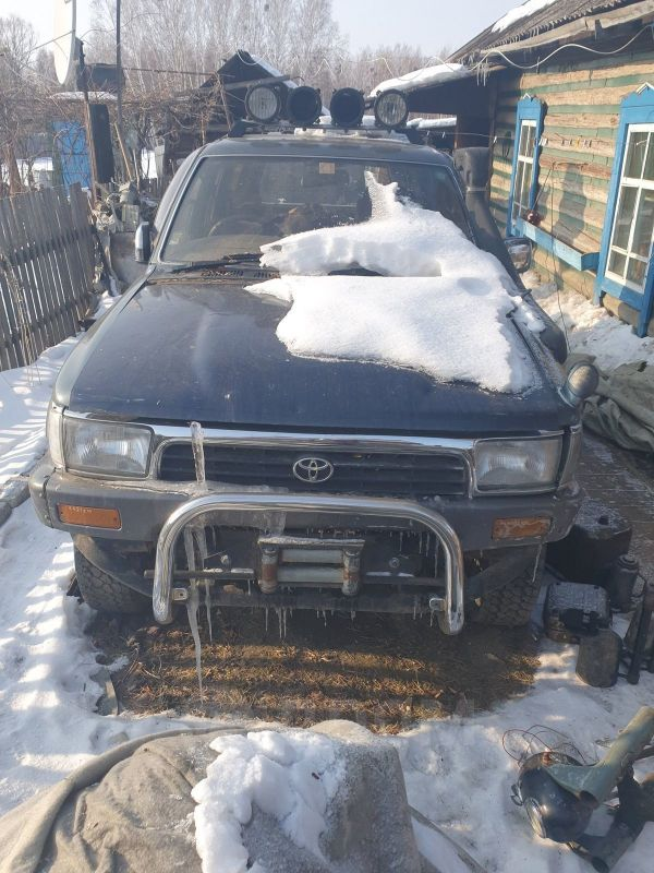 Toyota Hilux Surf, 1993 год, 80 000 руб.