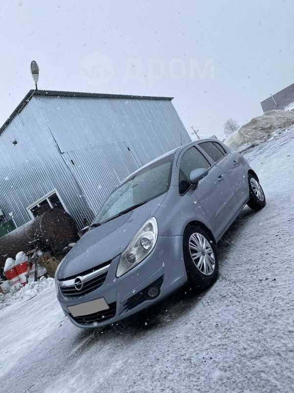 Opel Corsa, 2007 год, 160 000 руб.