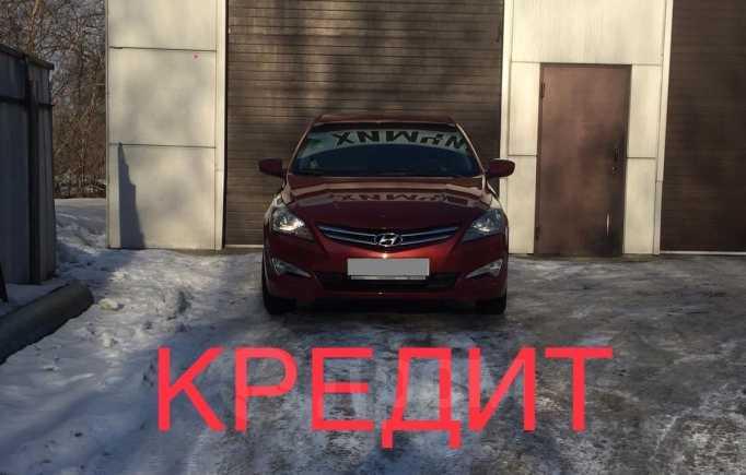 Hyundai Solaris, 2016 год, 617 000 руб.