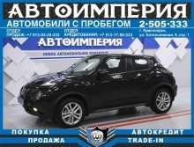 Красноярск Juke 2014