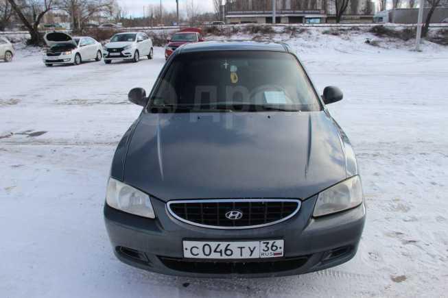 Hyundai Accent, 2003 год, 160 000 руб.