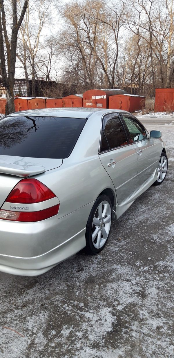 Toyota Mark II, 2002 год, 390 000 руб.