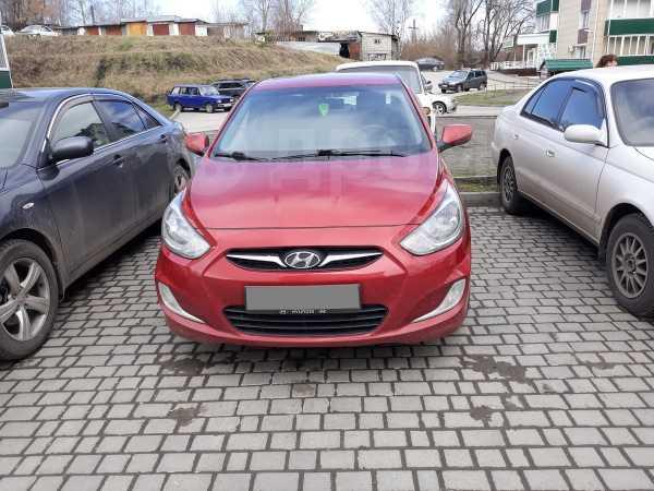 Hyundai Solaris, 2011 год, 435 000 руб.