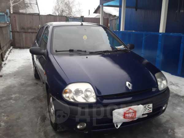 Renault Clio, 2001 год, 120 000 руб.