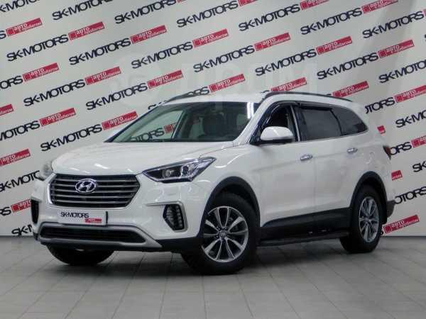 Hyundai Grand Santa Fe, 2017 год, 2 185 550 руб.