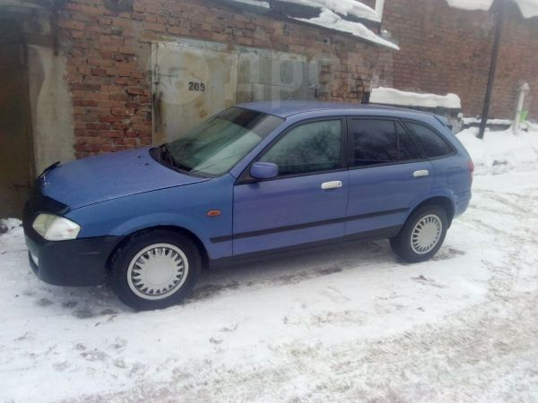 Mazda 323F, 1999 год, 115 000 руб.