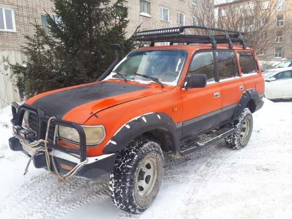 Toyota Land Cruiser, 1996 год, 890 000 руб.