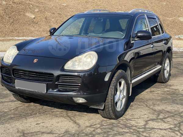 Porsche Cayenne, 2004 год, 460 000 руб.