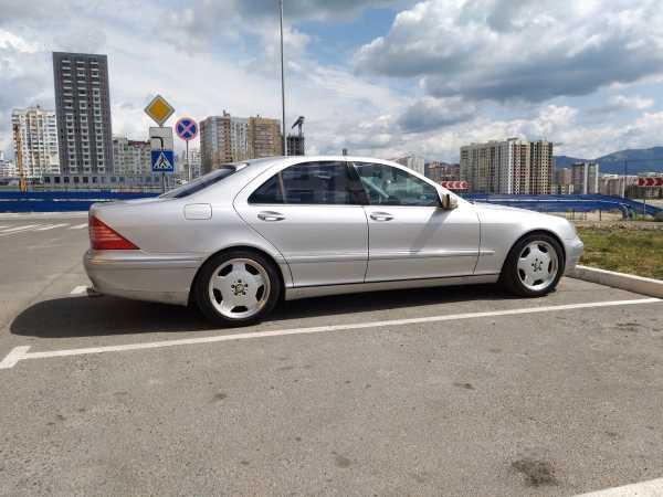 Mercedes-Benz S-Class, 2001 год, 360 000 руб.