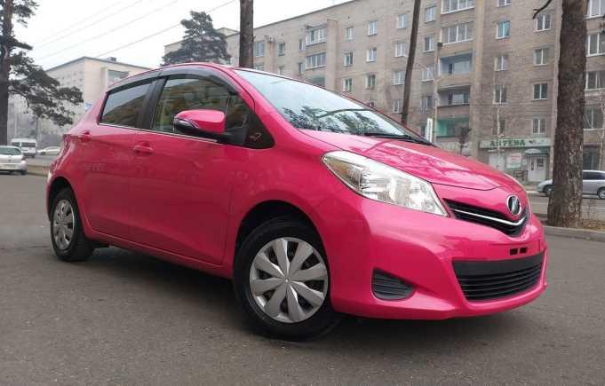 Toyota Vitz, 2011 год, 477 000 руб.