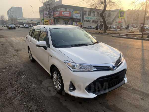 Toyota Corolla Fielder, 2019 год, 888 000 руб.
