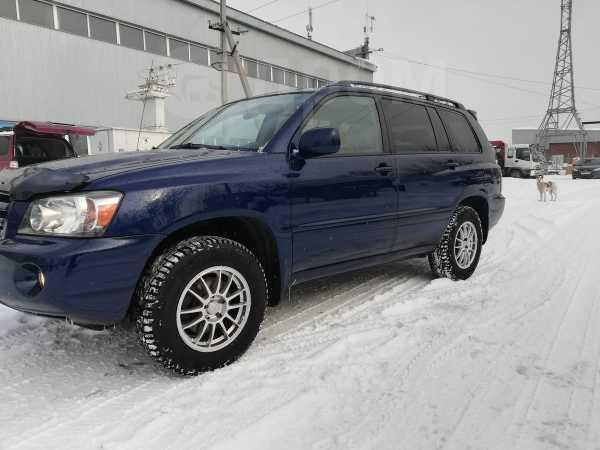 Toyota Highlander, 2004 год, 750 000 руб.