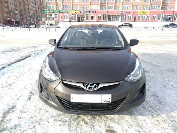 Hyundai Elantra, 2014 год, 580 000 руб.