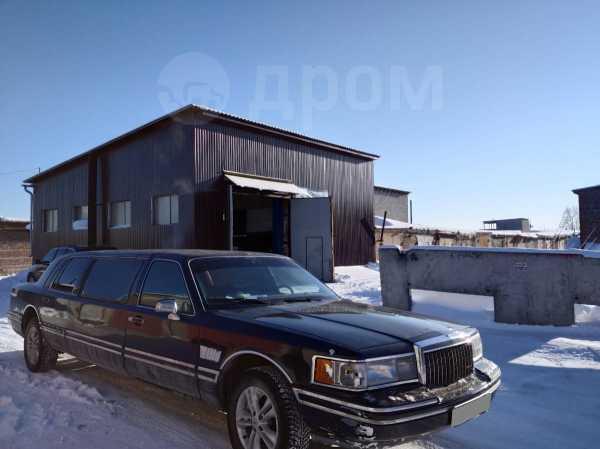 Lincoln Town Car, 1990 год, 250 000 руб.