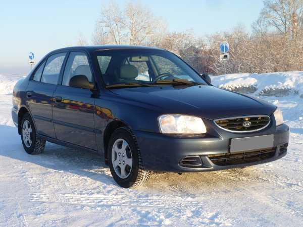 Hyundai Accent, 2008 год, 219 000 руб.