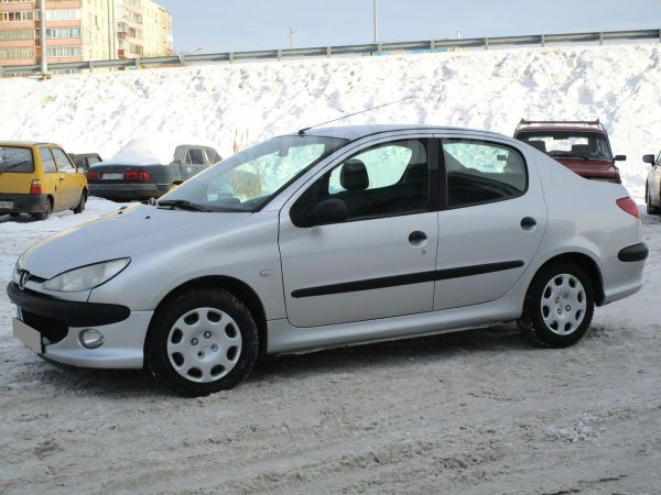Peugeot 206, 2008 год, 155 000 руб.