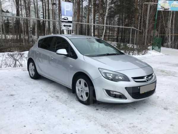 Opel Astra, 2012 год, 563 000 руб.