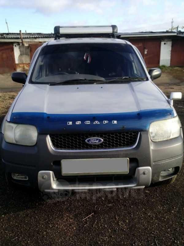 Ford Escape, 2002 год, 400 000 руб.