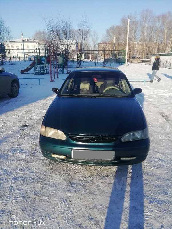 Toyota Corolla Verso, 1999 год, 140 000 руб.