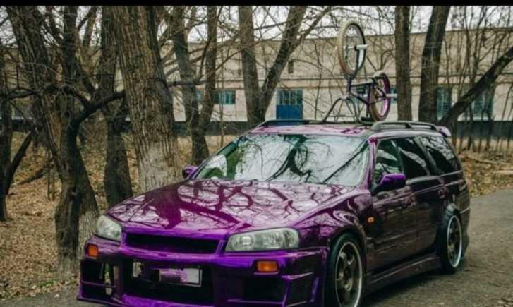 Nissan Stagea, 2000 год, 499 000 руб.
