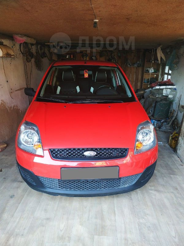 Ford Fiesta, 2007 год, 245 000 руб.