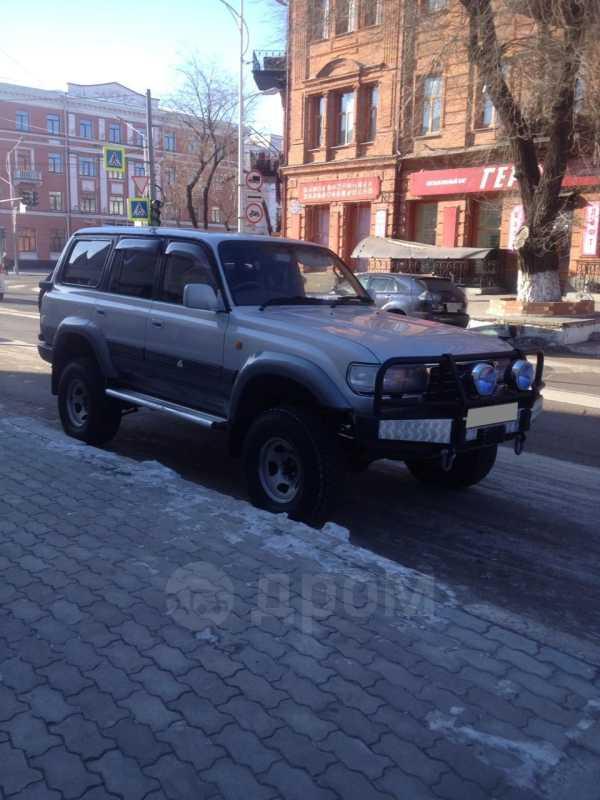 Toyota Land Cruiser, 1997 год, 1 100 000 руб.