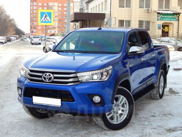 Toyota Hilux Pick Up, 2017 год, 2 150 000 руб.