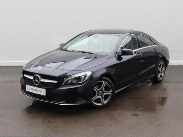 Mercedes-Benz CLA-Class, 2017 год, 1 377 000 руб.