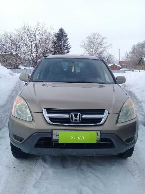 Honda CR-V, 2003 год, 515 000 руб.